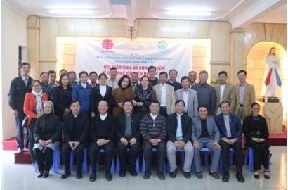 Caritas Giáo tỉnh miền Bắc: Hội thảo chia sẻ kinh nghiệm về ứng phó với biến đổi khí hậu và giảm nhẹ rủi ro thiên tai