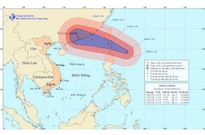 Tin bão gần biển Đông (bão USAGI)