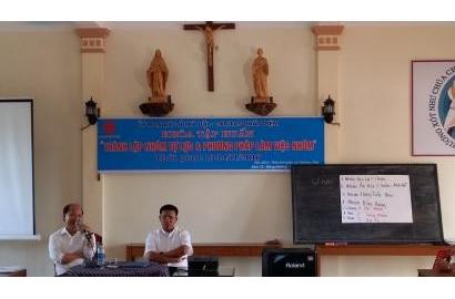 """Caritas Phát Diệm - Khóa Tập Huấn """"Thành Lập Nhóm Tự Lực và Phương Pháp Làm Việc Nhóm"""""""