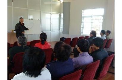 Caritas Đà Lạt Tổ Chức Lớp Tập Huấn Tiết Kiệm