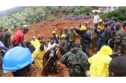 Đức Thánh Cha chia buồn với Sierra Leone sau vụ lở đất