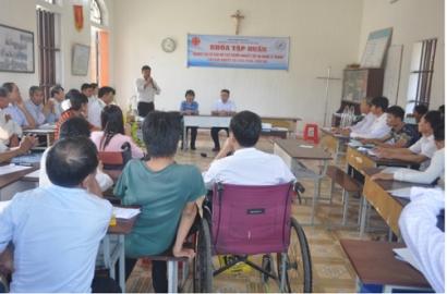 Caritas Bùi Chu: Ban KHuyết Tật Tập Huấn