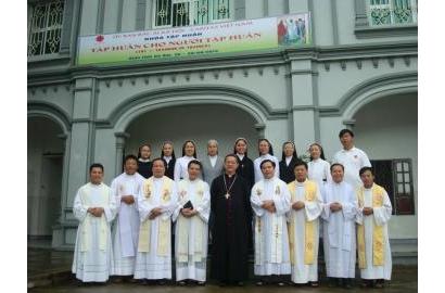 Khóa Tập huấn cuối cùng trong chương trình đào tạo 3 năm của Caritas Việt Nam