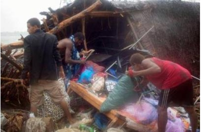 Vanuatu counts cost of Cyclone Pam
