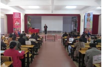 Caritas Đà Lạt tổ chức tổng kết hoạt động bác ái xã hội năm 2014
