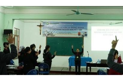 Caritas Việt Nam: Ban Khuyết tật khai mạc khoá tấp huấn tại Bắc Ninh