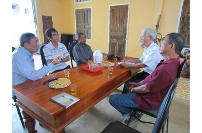 Chuyến viếng thăm của Caritas Việt Nam tại Caritas Kontum
