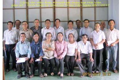Caritas Huế: Họp mặt Cộng tác viên ban Khuyết tật Giáo hạt Hải Vân