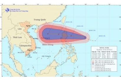 Tin bão gần Biển Đông (Bão KROSA)