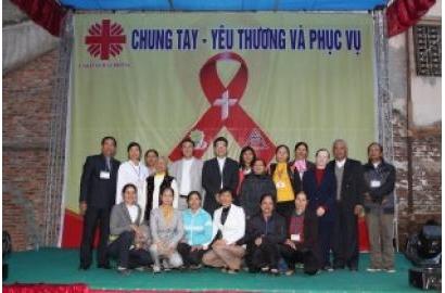 """Caritas Hải Phòng tổ chức chương trình """"Chung Tay, Yêu Thương và Phục Vụ"""""""