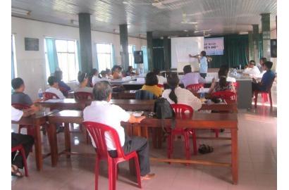 Caritas Huế tập huấn kỹ năng Biện hộ cho Người nhiễm HIV/AIDS