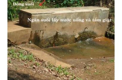Dự án Nước sạch cho bệnh nhân phong tại vùng Gia Lai - Kontum