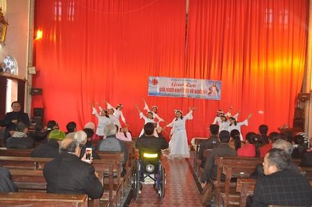 Caritas Bùi Chu: Giao Lưu Giữa Ban Khuyết Tật với Ban HIV