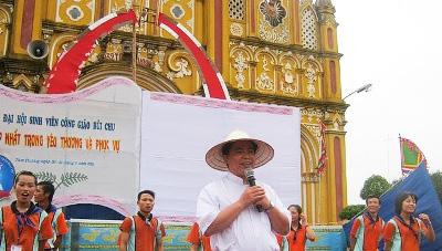 Sinh viên Công Giáo Bùi Chu khai mạc lễ truyền thống lần thứ VII