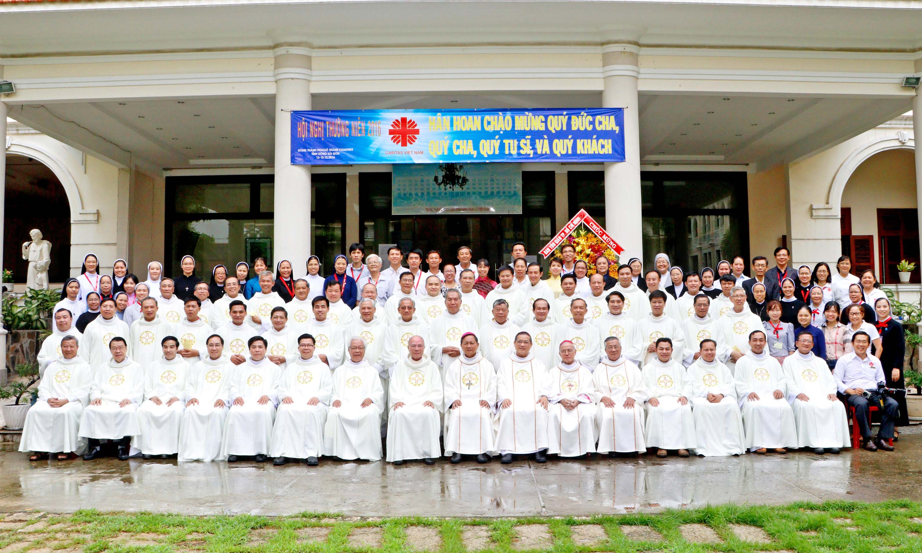 Caritas Vietnam Annual Meeting 2016