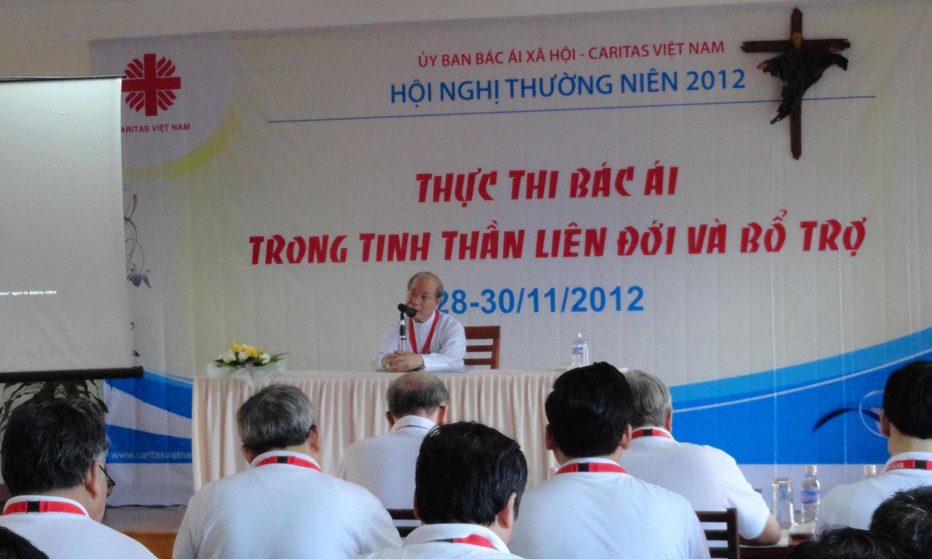 Caritas Việt Nam: HNTN 2012