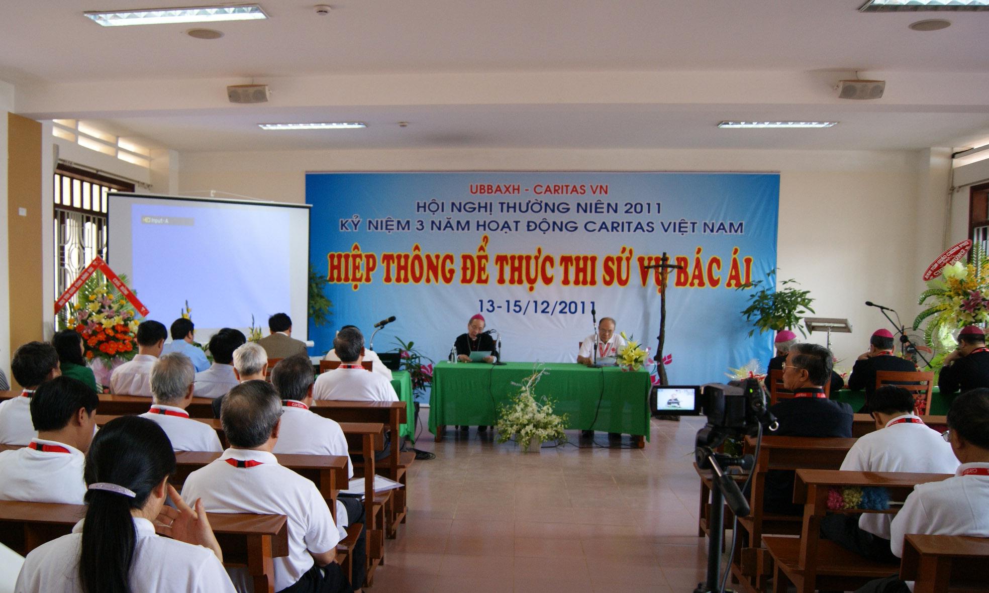 Caritas Việt Nam: HNTN 2011