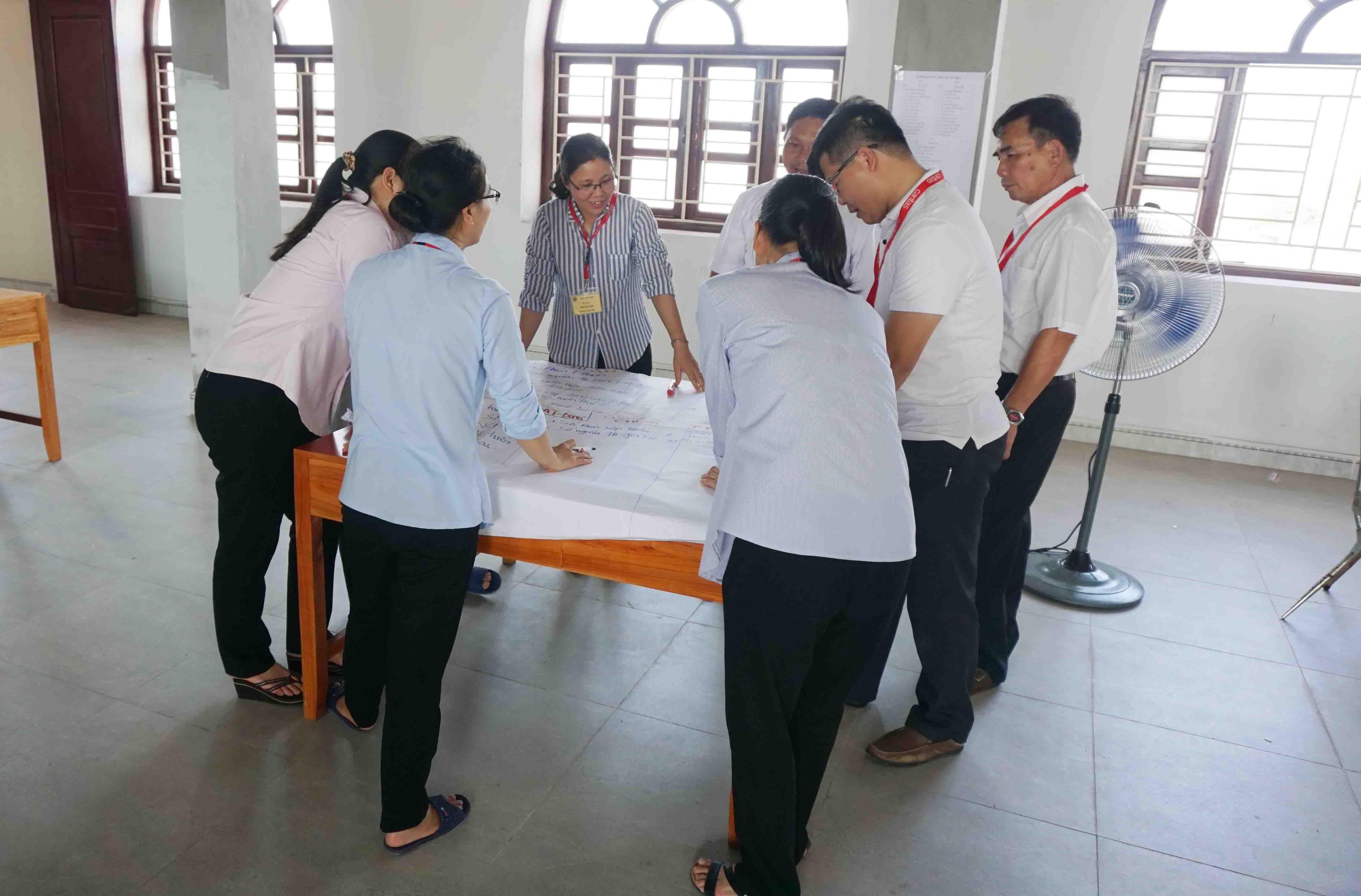 Caritas Việt Nam: Khoá tập huấn kỹ năng theo dõi, giám sát và đánh giá dự án