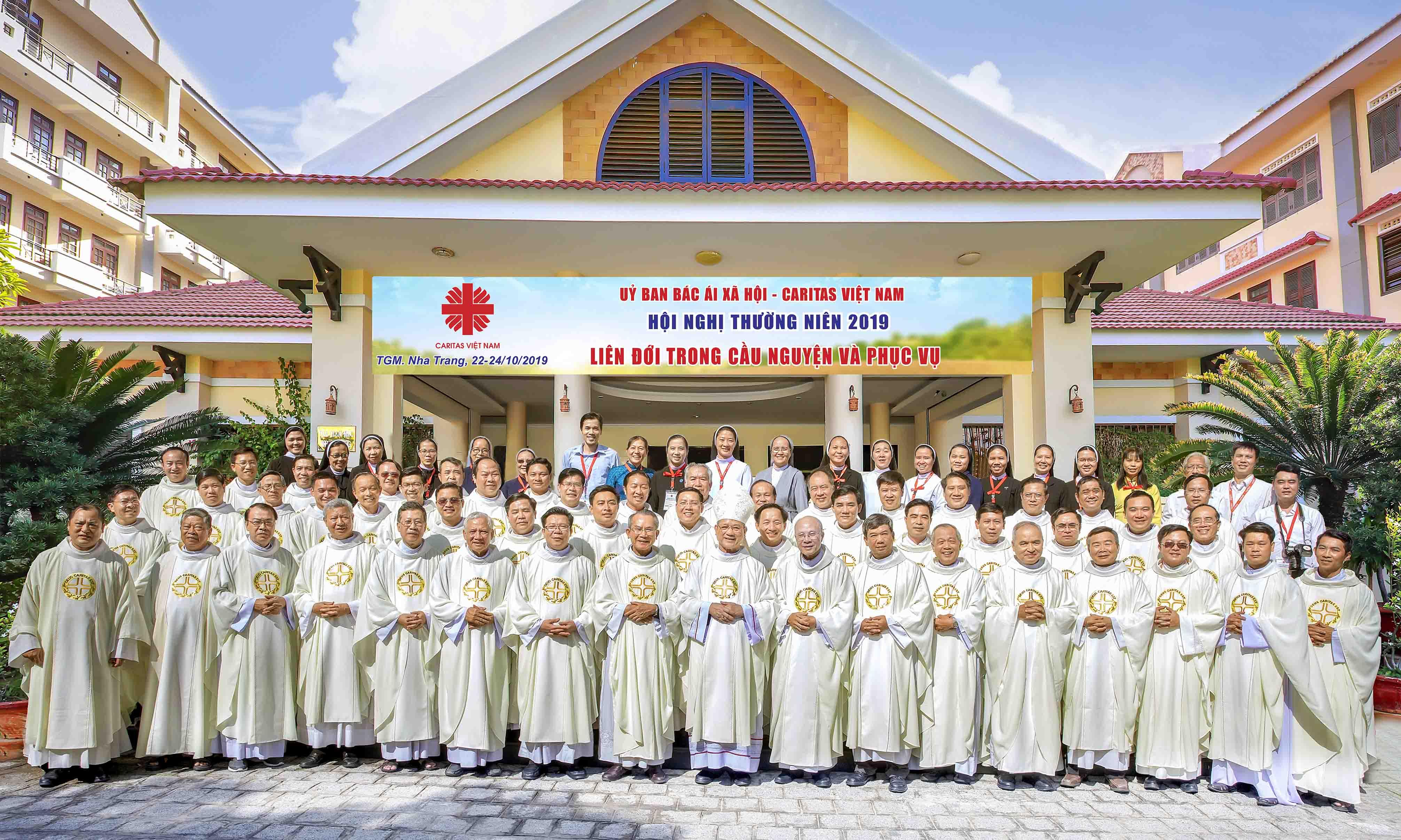 Caritas Việt Nam: HNTN 2019: Liên Đới Trong Cầu Nguyện Và Phục Vụ
