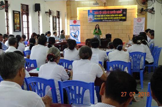 Caritas Việt Nam: Khóa tập huấn và truyền thông về phòng chống mua bán người cho các TNV Caritas Hải Phòng