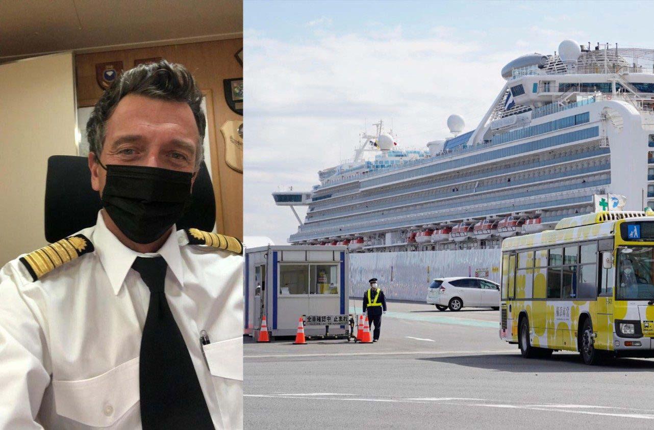"""Virus corona: chứng tá đức tin của thuyền trưởng tàu """"Diamond princess-Công chúa Kim cương"""""""