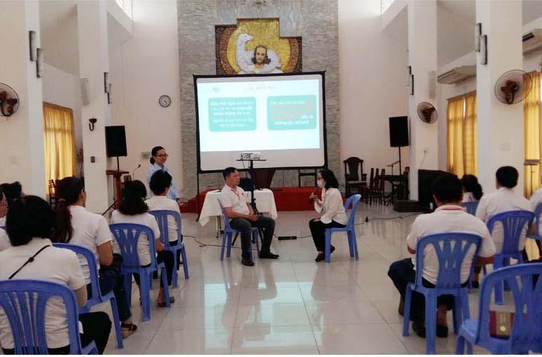 Caritas Sài Gòn: Tập huấn về phương pháp và kỹ năng thu thập thông tin người khuyết tật