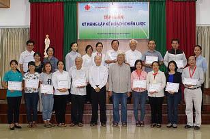 Caritas Việt Nam: Tập huấn lập Kế hoạch chiến lược (1)