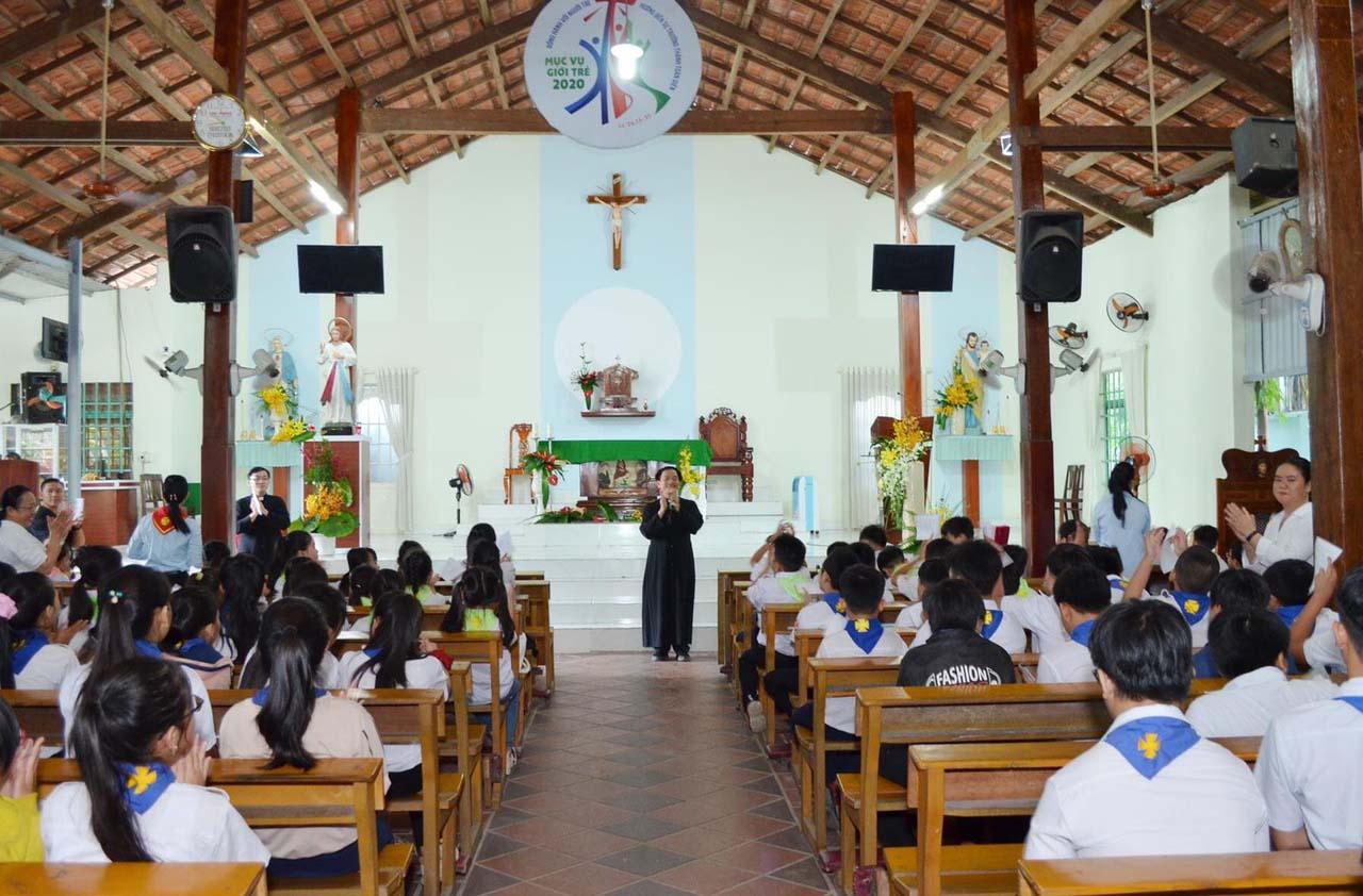 Caritas Phú Cường: Truyền Thông Kỹ Năng Phòng Tránh Xâm Hại Tình Dục Trẻ Em