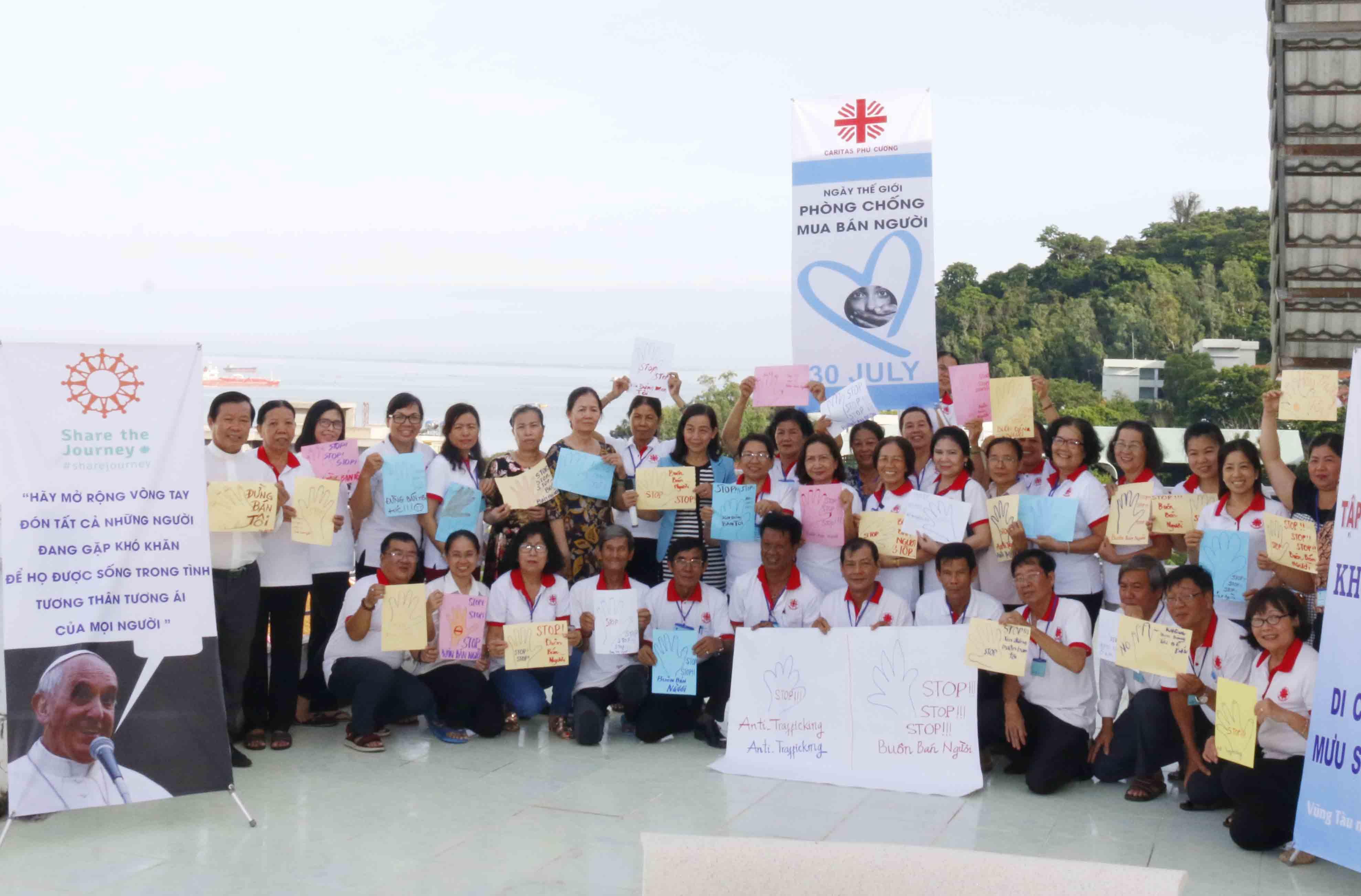 Caritas Việt Nam: Hưởng Ứng Ngày Thế Giới Phòng Chống Mua Bán Người 30/7