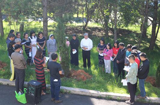 Caritas Đà Lạt: Trồng cây hưởng ứng lời kêu gọi chăm sóc ngôi nhà chung