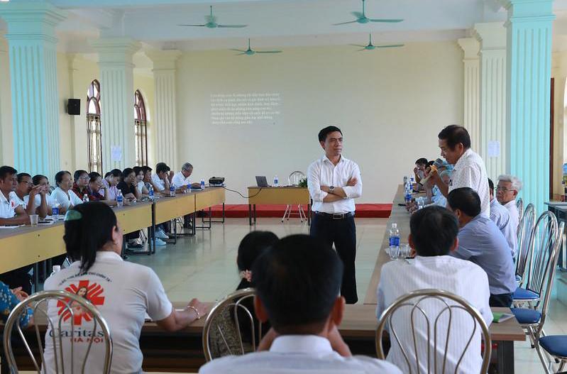 Caritas Hà Nội: Tập Huấn Cho Cộng Tác Viên Ban Khuyết Tật
