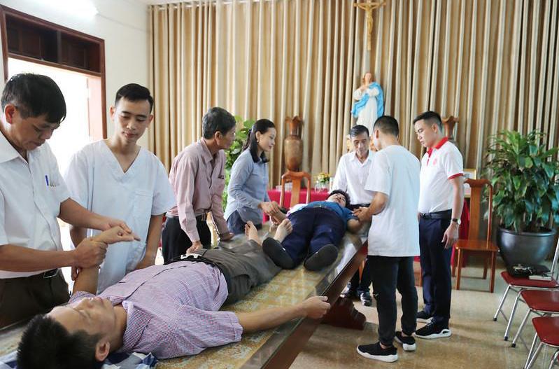 Caritas Hà Nội: Tập huấn cho cộng tác viên Ban khuyết tật năm 2020