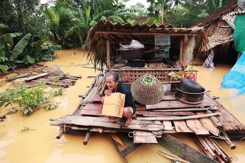 Một số hình ảnh lũ lụt và sạt lở tại Miền Trung vào tháng 10/2020