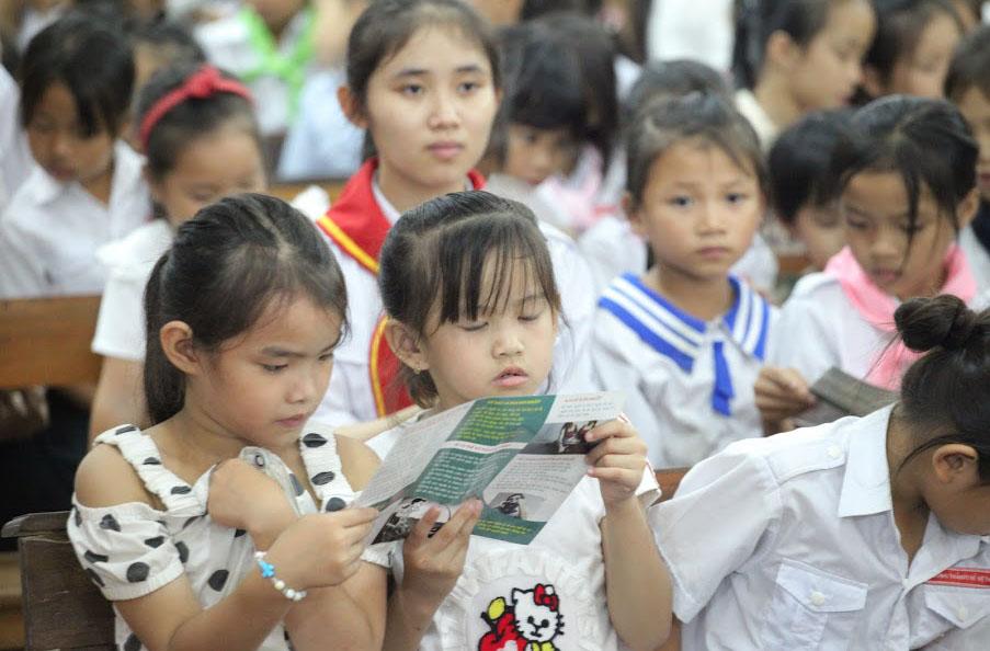 Caritas Hà Tĩnh: Truyền thông phòng chống buôn người tại Giáo xứ Tân Hội