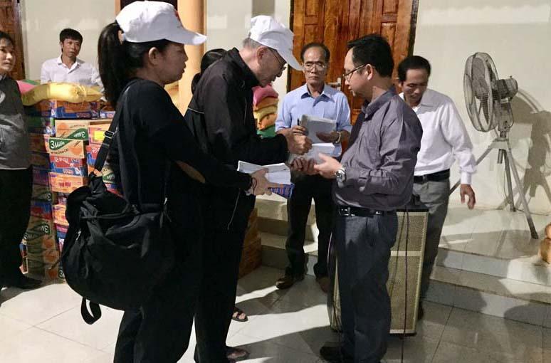 Caritas Sài Gòn: Kết thúc hành trình thương về miền Trung