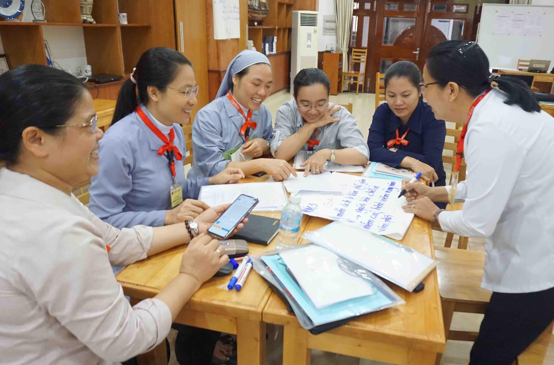 Caritas Việt Nam: Tổ Chức Khóa Tập Huấn Đào Tạo Giảng Viên Nguồn