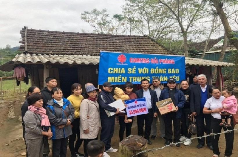 Caritas Hải Phòng: Triển Khai Gói Hỗ Trợ 1,3 tỷ Đồng Sửa Nhà Tại Miền Trung