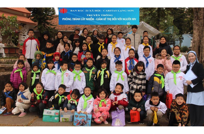 Caritas Lạng Sơn: Truyền Thông Tránh Lây Nhiễm Và Giảm Kỳ Thị Đối Với Người Có H