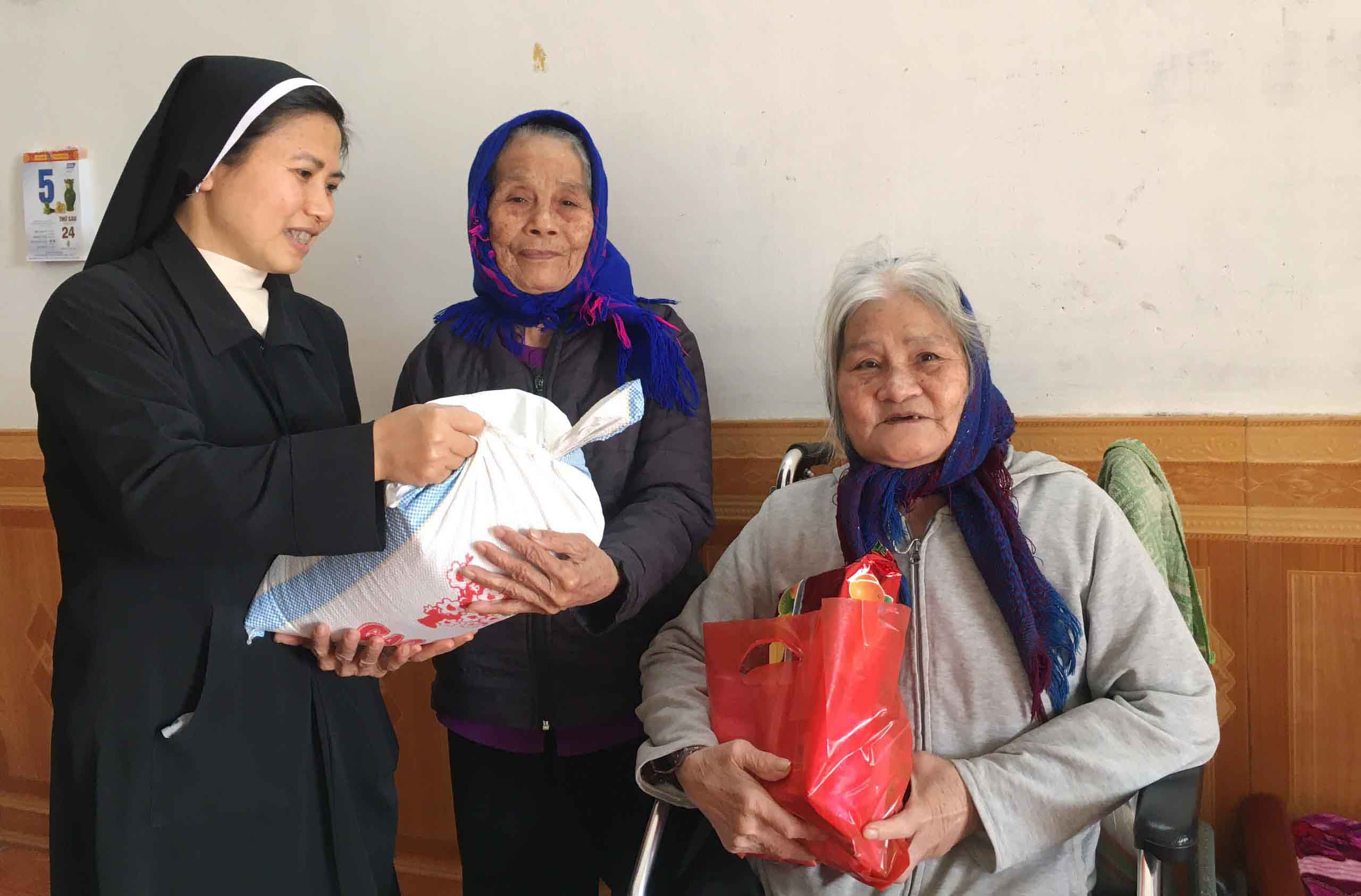 Caritas Thái Bình: Mùa Xuân - Mùa Của Tình Liên Đới