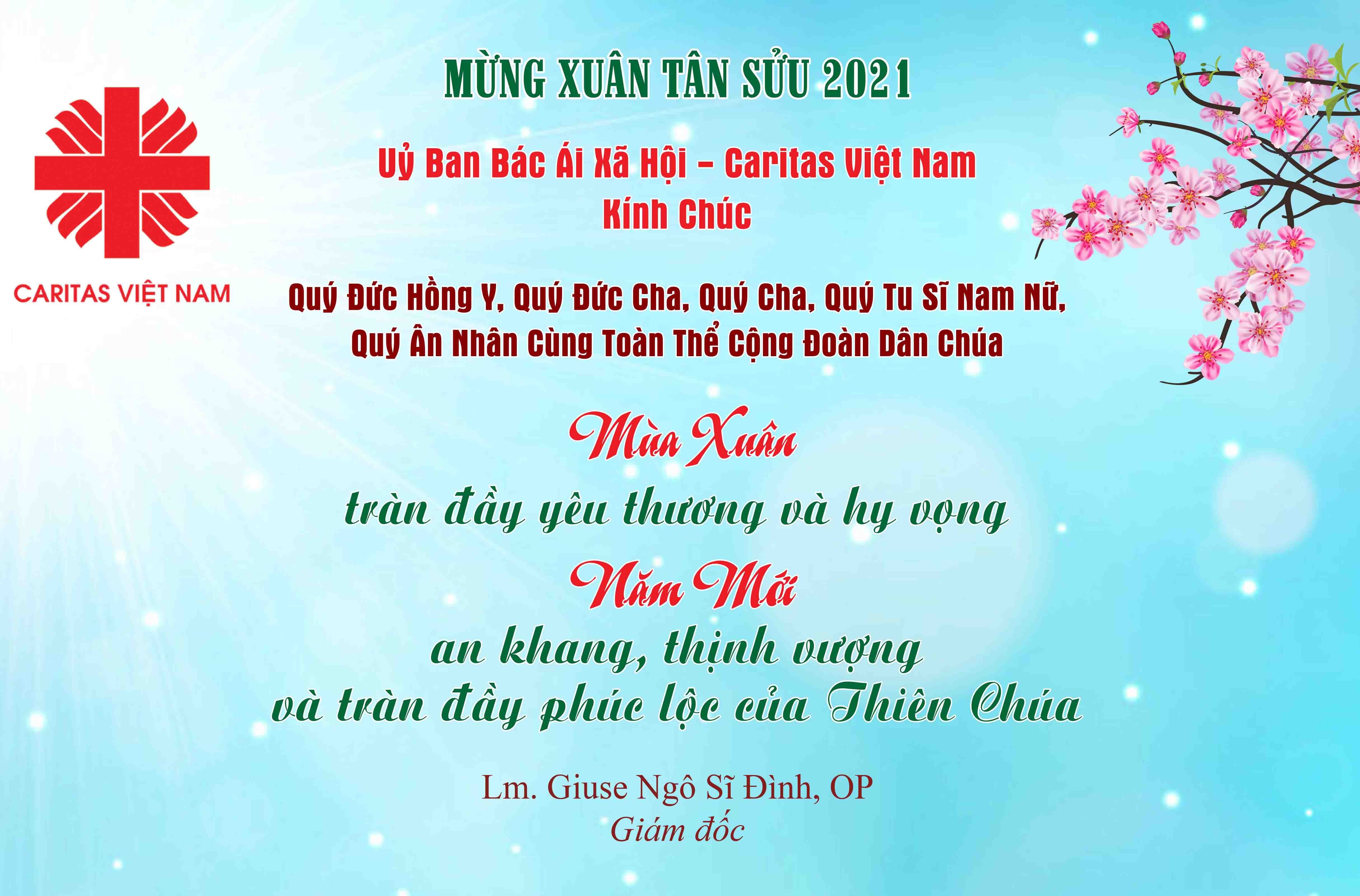 Caritas Việt Nam: Chúc Mừng Năm Mới