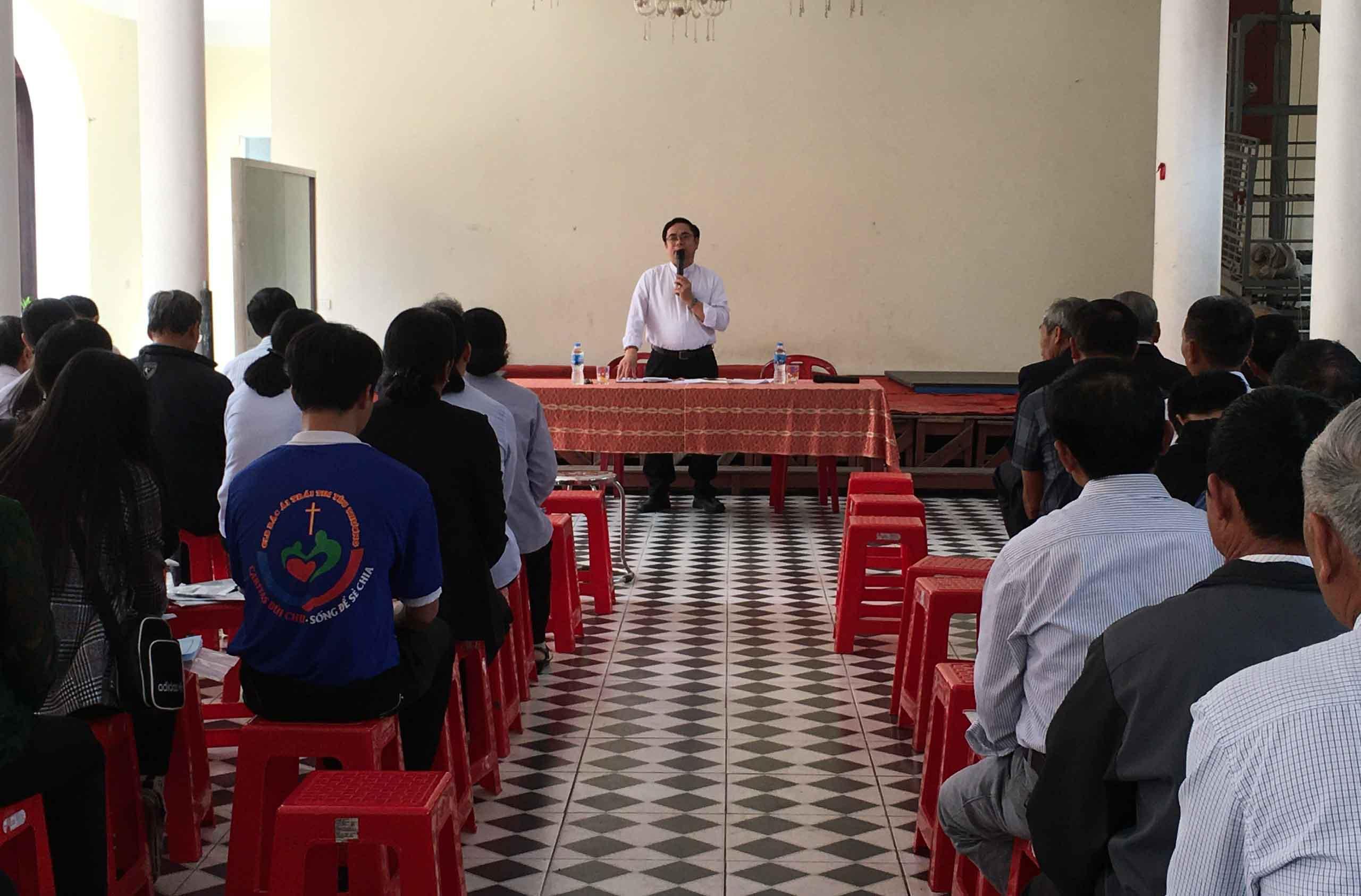 Caritas Bùi Chu: Tĩnh Tâm Mùa Chay