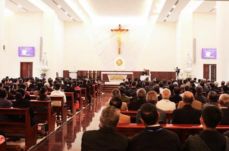 Caritas Phát Diệm: Tĩnh tâm Mùa Chay ngày lễ Truyền tin