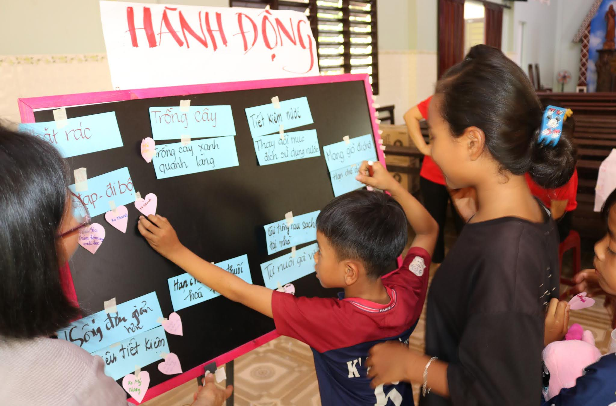 Caritas Đà Lạt: Tập Huấn Bảo Vệ Môi Trường tại Giáo Họ Thôn 2 – Giáo xứ Madagui