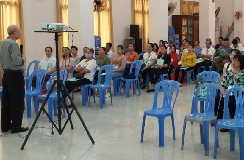Caritas Sài Gòn: Khai giảng tập huấnlinh đạo Caritas khóa 12