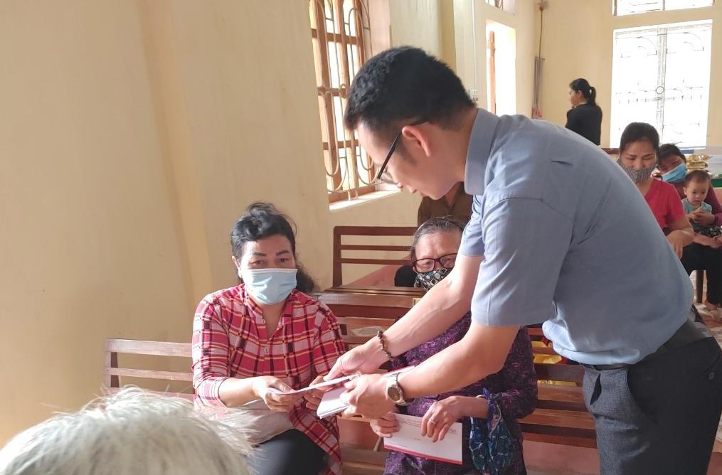 Caritas Hải Phòng: Chia sẻ với các bệnh nhân phong trong ngày mừng Lễ Chúa Chiên Lành