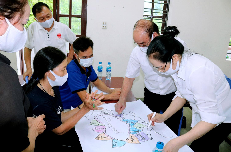 Caritas Hải Phòng: Khóa Tập Huấn Kỹ Năng Biện Hộ Cho Người Khuyết Tật Và Người Nhiễm HIV