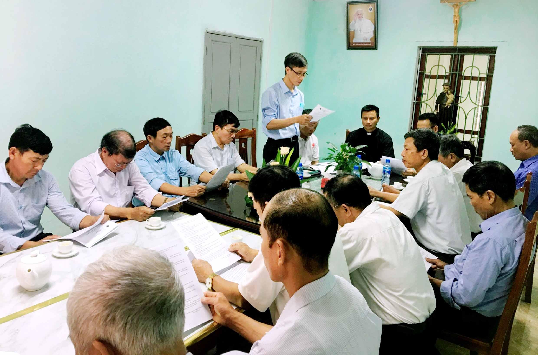 Caritas Hải Phòng: Chia tách và thiết lập Ban điều hành Caritas các Giáo hạt