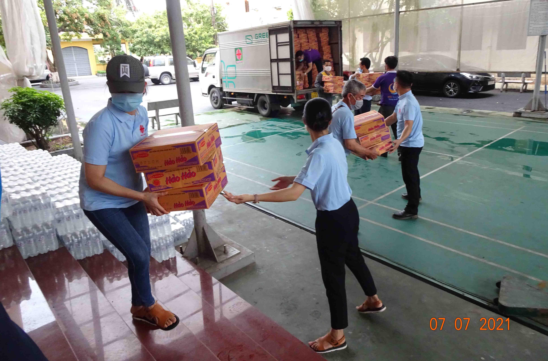 Caritas Hải Phòng: Đồng hành với bà con vùng dịch huyện Vĩnh Bảo