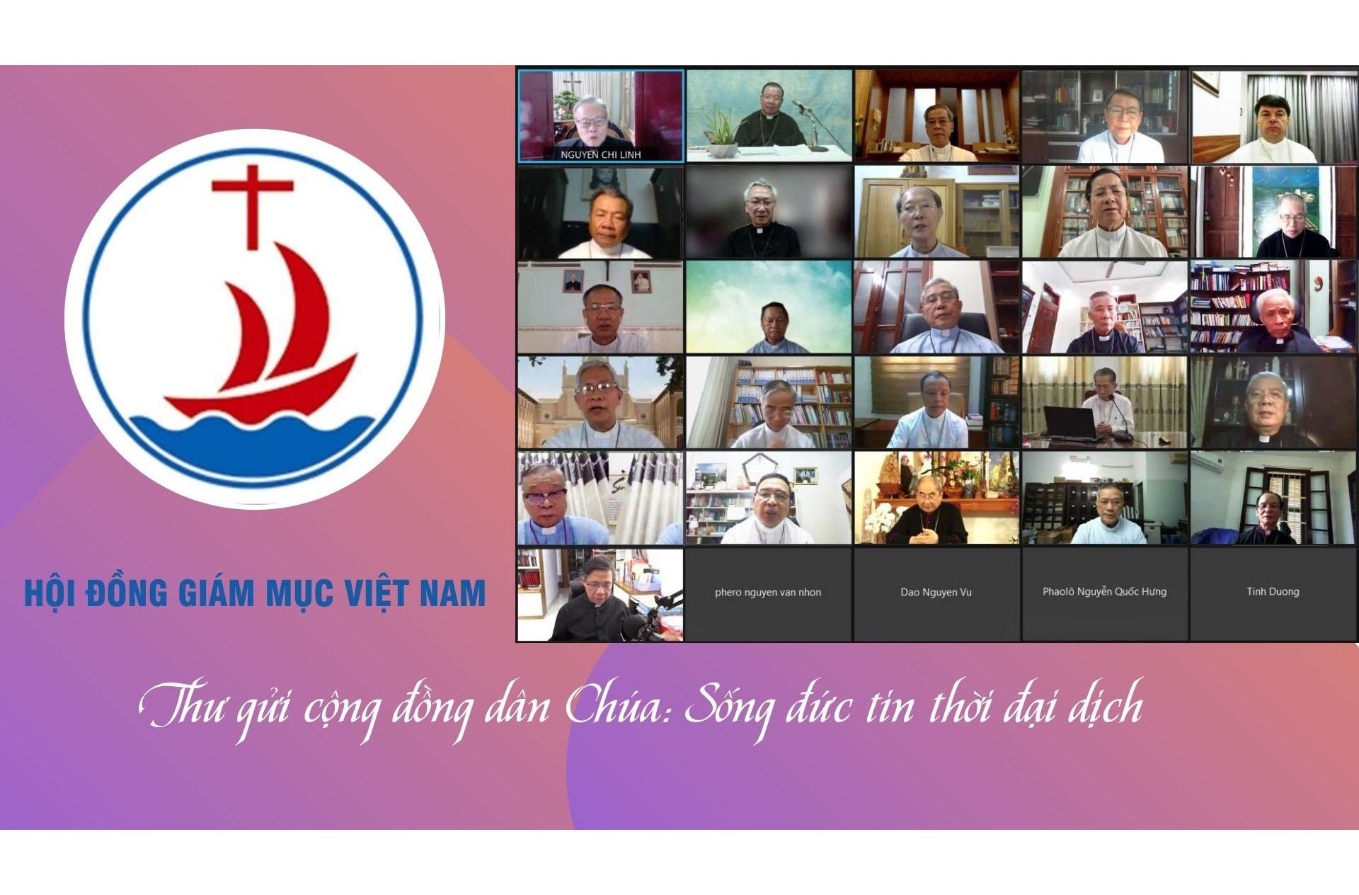 Thư Hội đồng Giám mục Việt Nam gửi cộng đồng dân Chúa: Sống đức tin thời đại dịch