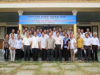 Khoá Tập Huấn: Công tác xã hội và phát triển cộng đồng - Caritas Giáo Phận Huế